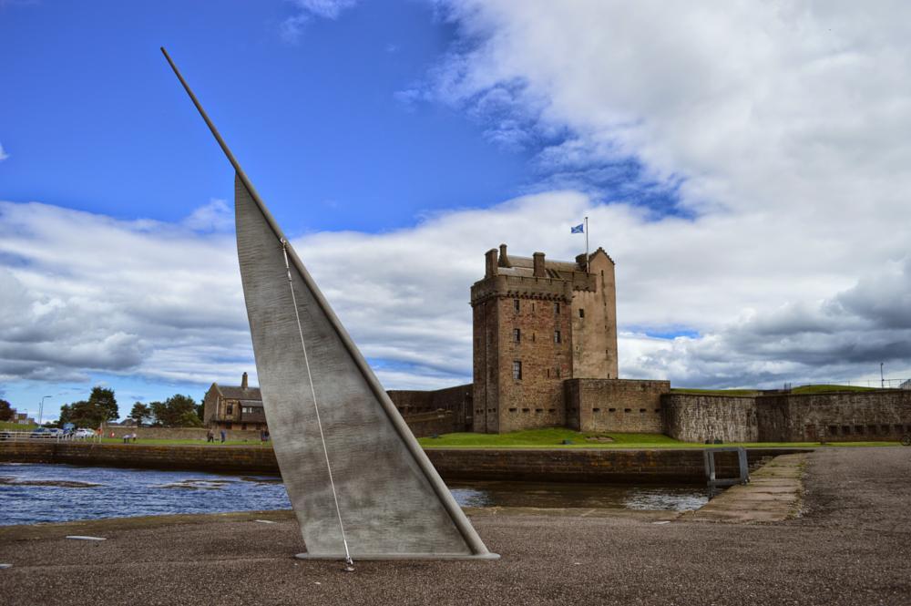 Photo in Architecture #castle #scotland #nikon d3200