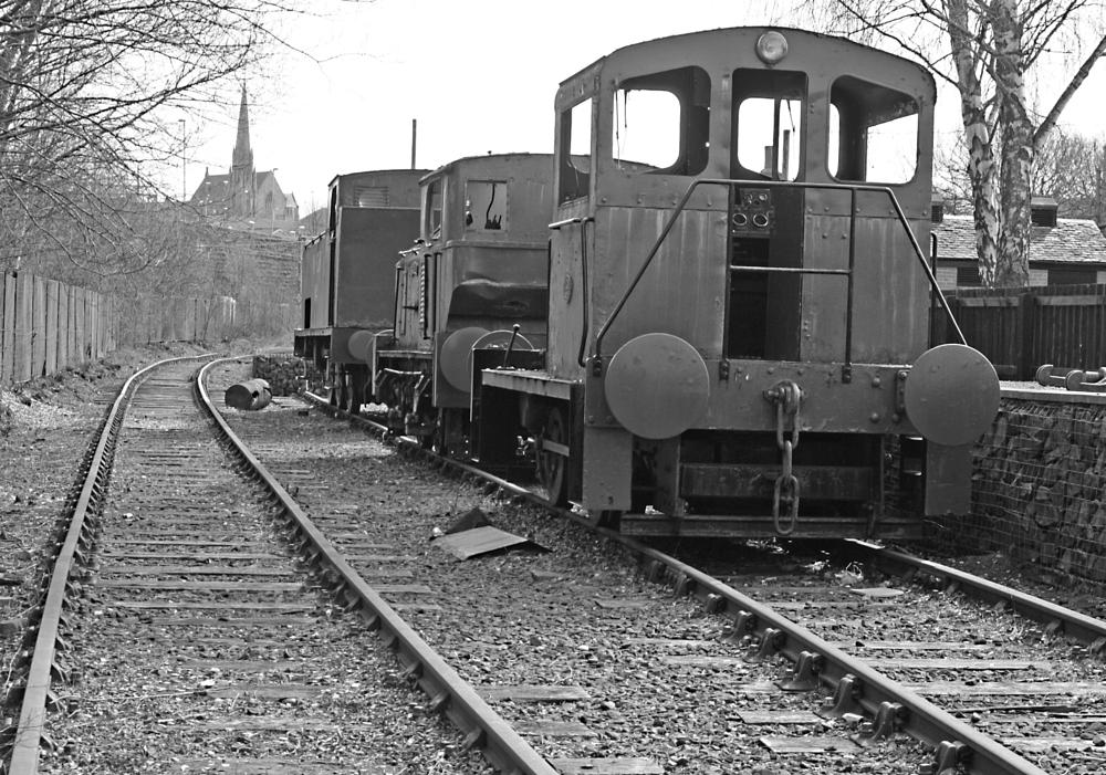 Photo in Industrial #train #carriages #vintage