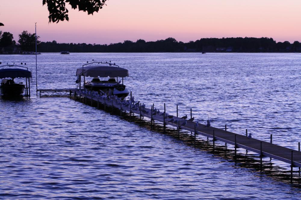 Photo in Landscape #landscape #lake #boats #dock
