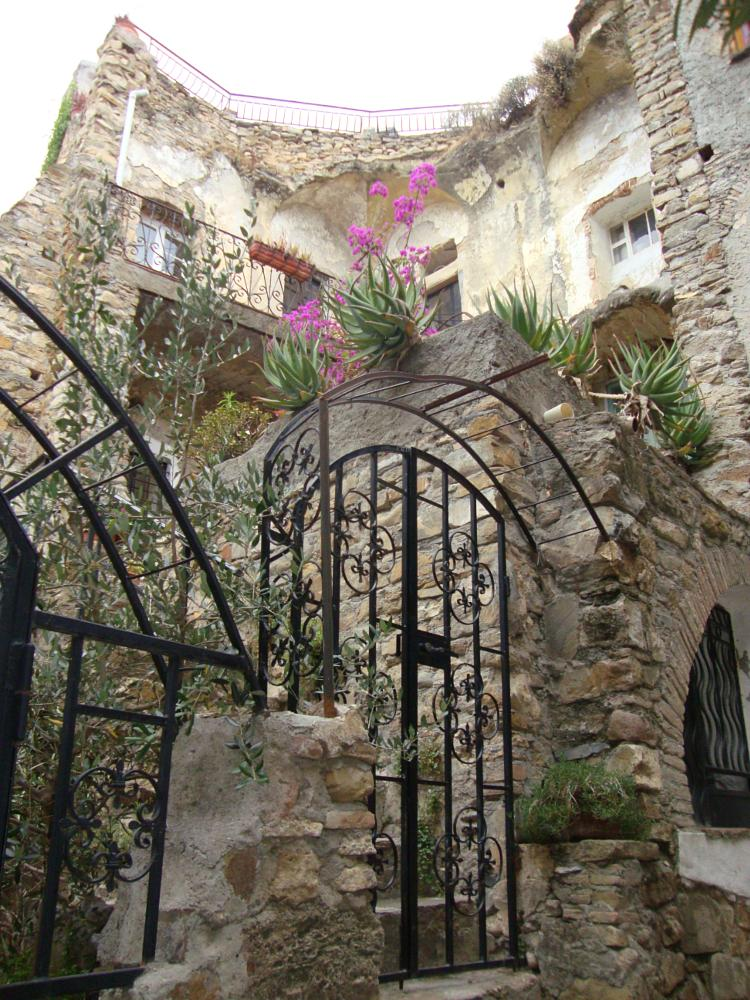 Photo in Architecture #earthquake #artists' village #life goes on #liguria italy #history #urban #tourism