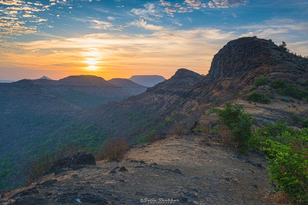 Photo in Travel #sunrise #morning #saputara #sahyadri #mountain #travel #tourism #nature #sky #gujarat #india