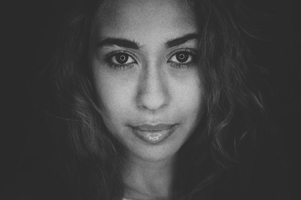 Photo in Black and White #ypa2013 #chikozawa #ringlight #ashadi rashid #portrait photographer #malaysia portrait photographer #black & white