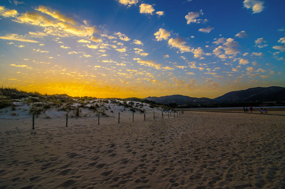 Photo in Landscape #ypa2013 #sunset #clouds #sky #sand #beach #sea #mountains #amazing #place #nikon #d7000 #tokina