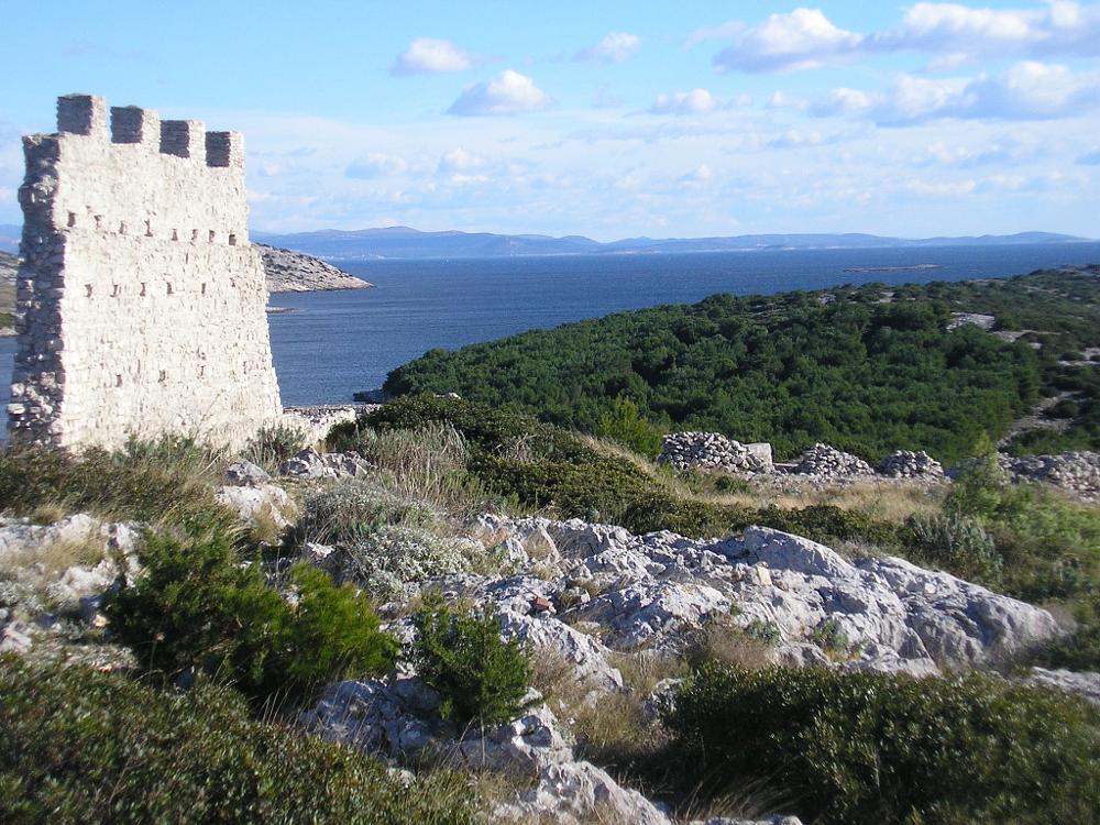 Photo in Landscape #gradina island žirje šibenik