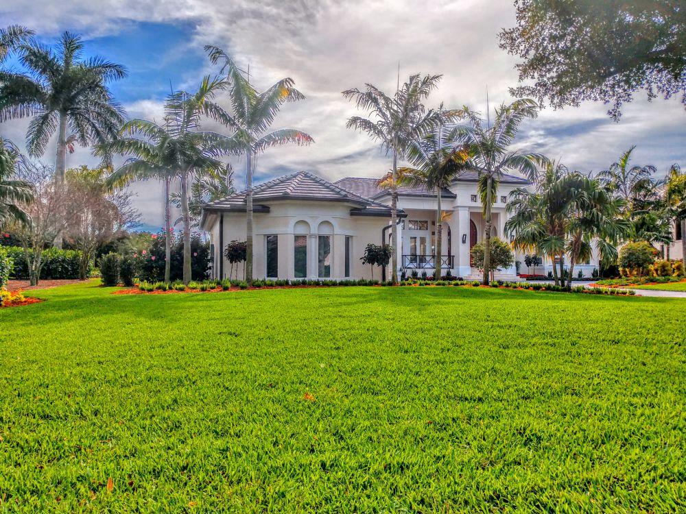 Photo in Landscape #perfect #grass #floratam #landscaping #work #lawn #yard #nature #bonita springs #florida