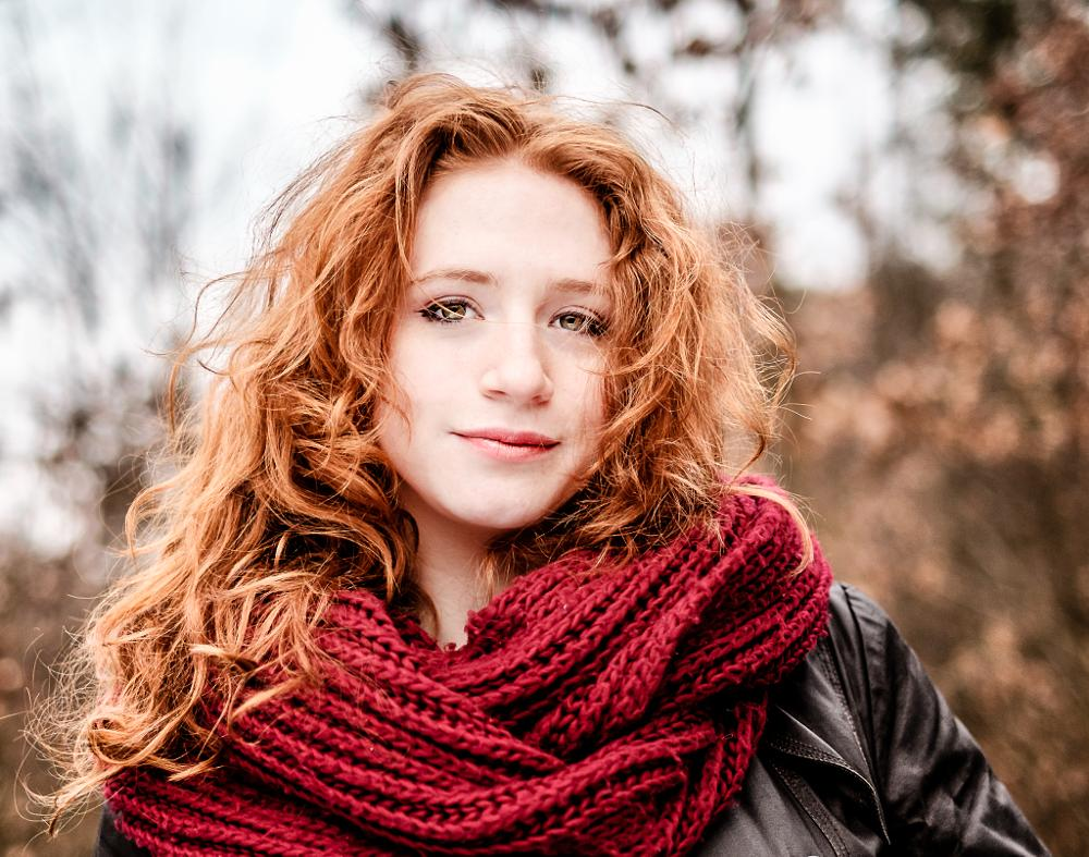 Photo in Portrait #woman #redhair #day