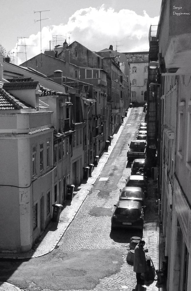 Photo in Black and White #bnw #lisboa #street