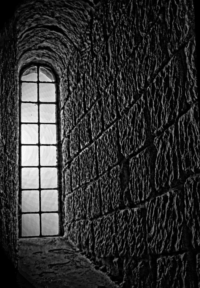 Photo in Random #window #arched #black and white