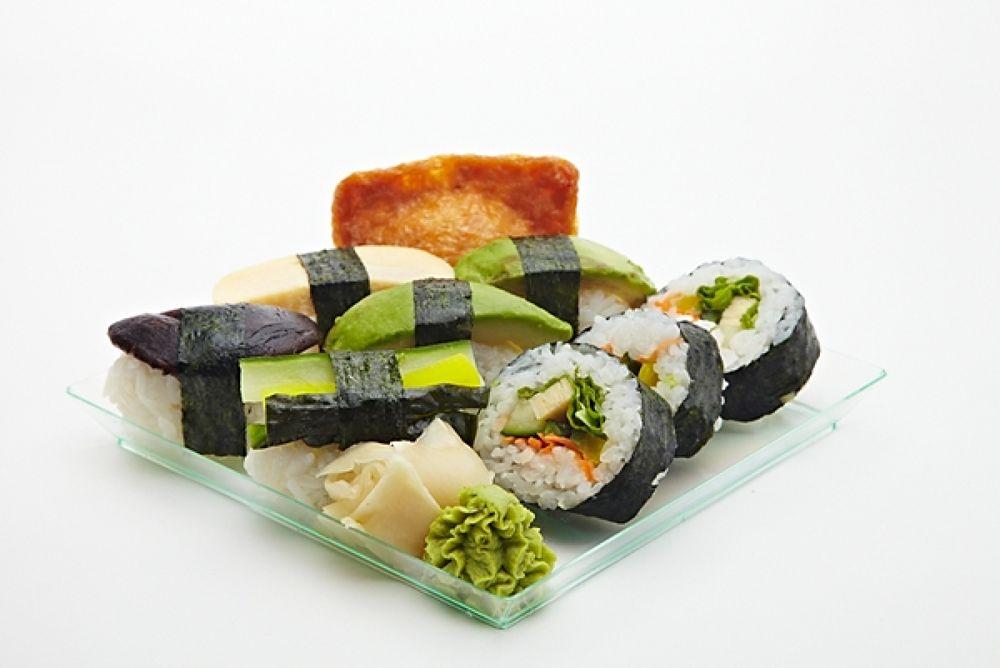 Photo in Random #sushi #vegetarisk