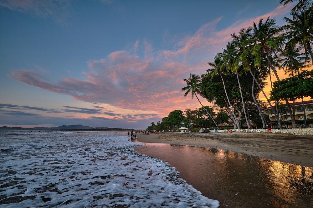 Photo in Sea and Sand #playa tamarindo #colours #fuji #sky #ocean