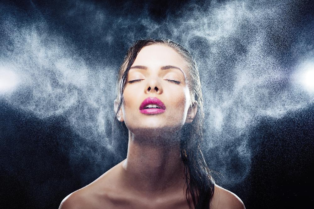 Photo in Portrait #portrait #beauty #rain #wet #storm #woman #girl #face #ecstasy #passion