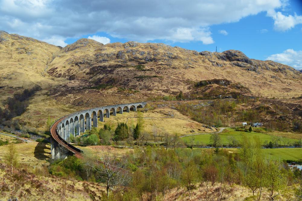 Photo in Landscape #glenfinnan viaduct #harry potter #west highlands #scotland