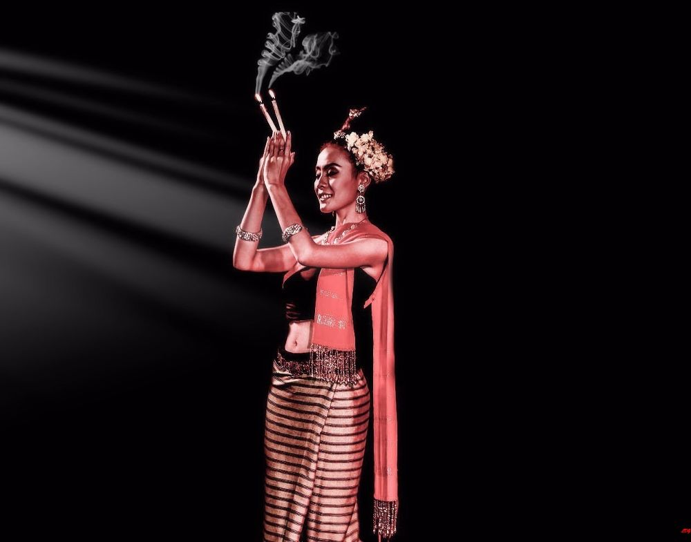Photo in Random #thai #thailand #lady #dancer #dance