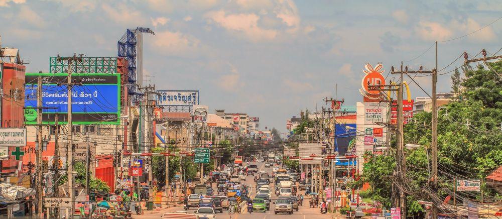 Photo in Random #thailand #city #street #cars