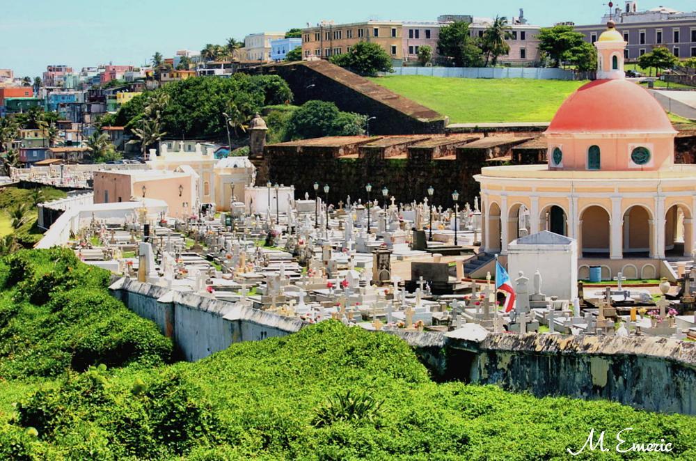 Photo in Landscape #cemetery #historic #city view #san juan #puerto rico