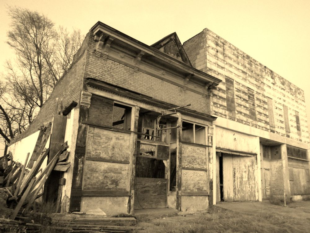 Photo in Black and White #architecture #rustic #buildings