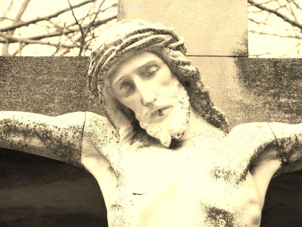 Photo in Black and White #stone #art #religous