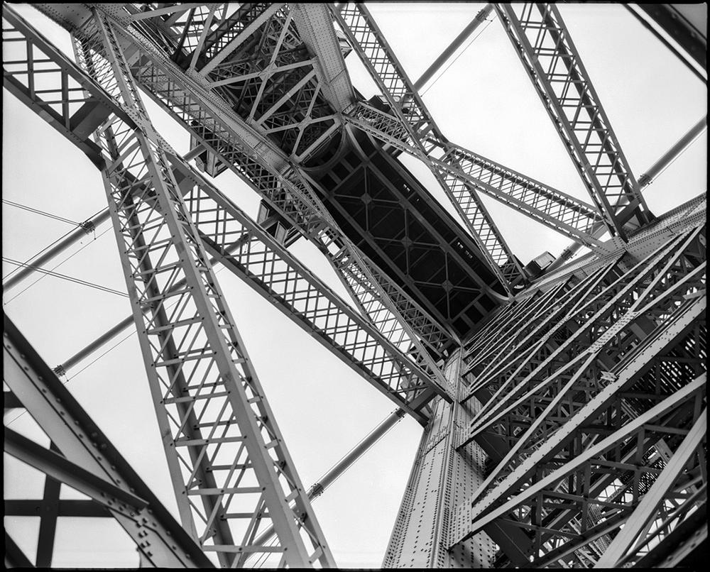Photo in Architecture #nyc #bridges #black and white #film