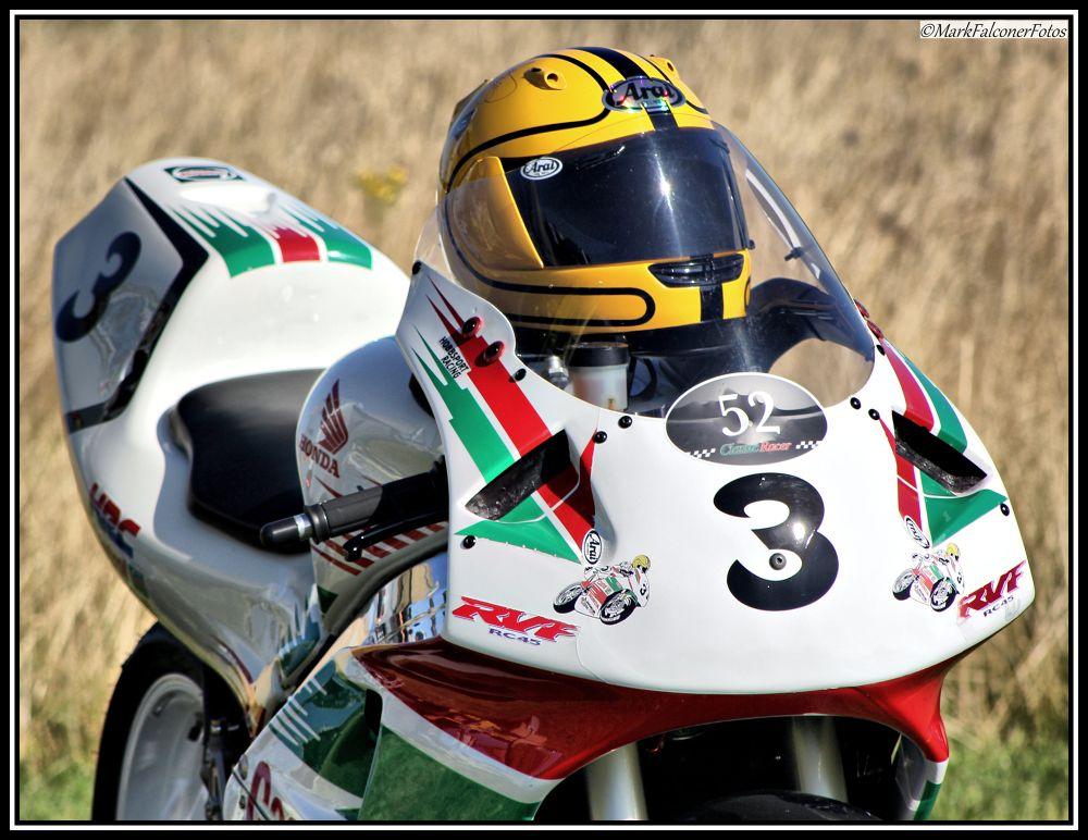 Photo in Sports #joey dunlop #vmcc #jurby #isle of man #joey dunlop foundation #road racing #honda #motorcycle #motorbike