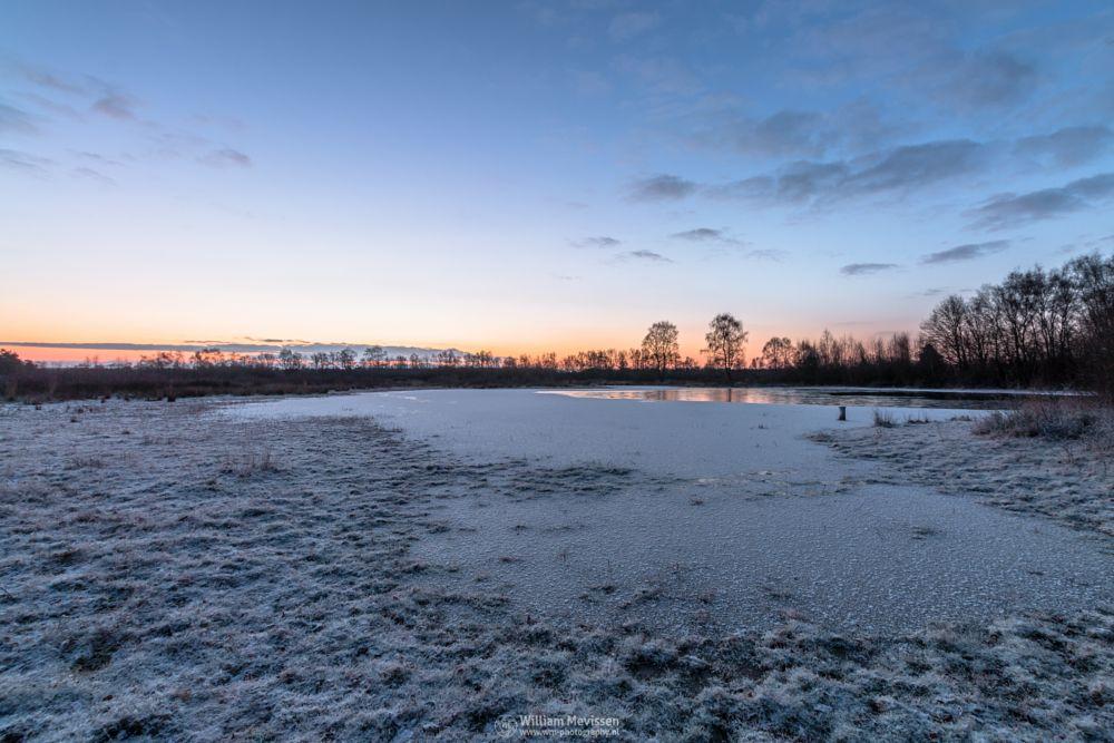 Photo in Landscape #bergerheide #forest #woods #heathland #maasduinen #limburg #nieuw-bergen #bergen #noord-limburg #national park #nature #sand #dunes #tree #trees #sky #clouds #rondven #snow #ice #winter