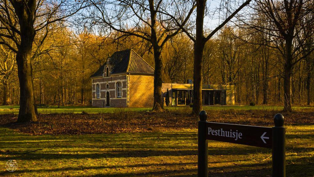 Photo in Architecture #convent #haelen #limburg #midden-limburg #pesthuisje #plague house #pesthouse #het leudal #monument #forest #leudal #st. elisabeth