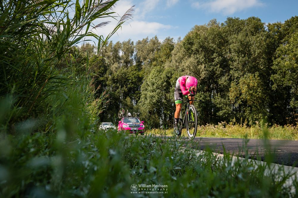 Photo in Sports #binckbanktour #binckbanktour2018 #merselo #venray #weverslo #individualtimetrial #timetrial #cycling #cyclingshots #tomvanasbroek #teameducationfirst #noordlimburg #netherlands #limburg