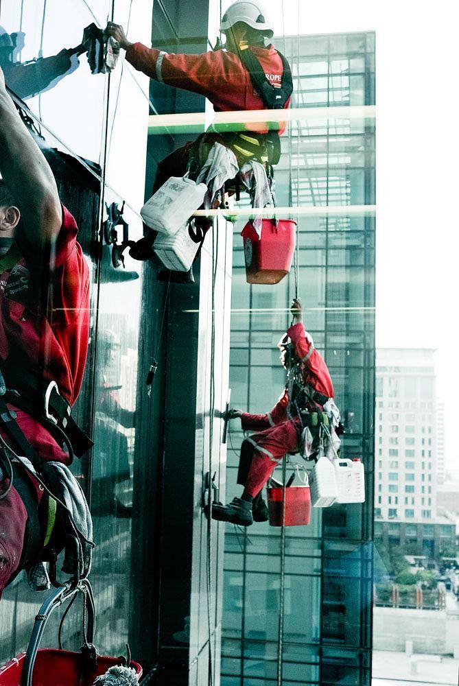 Photo in Cityscape #window cleaners #random #dxbimran