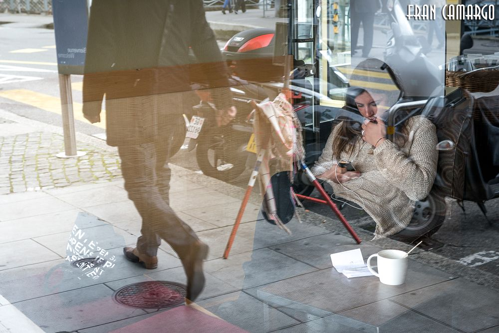 Photo in Street Photography #glare and reflections