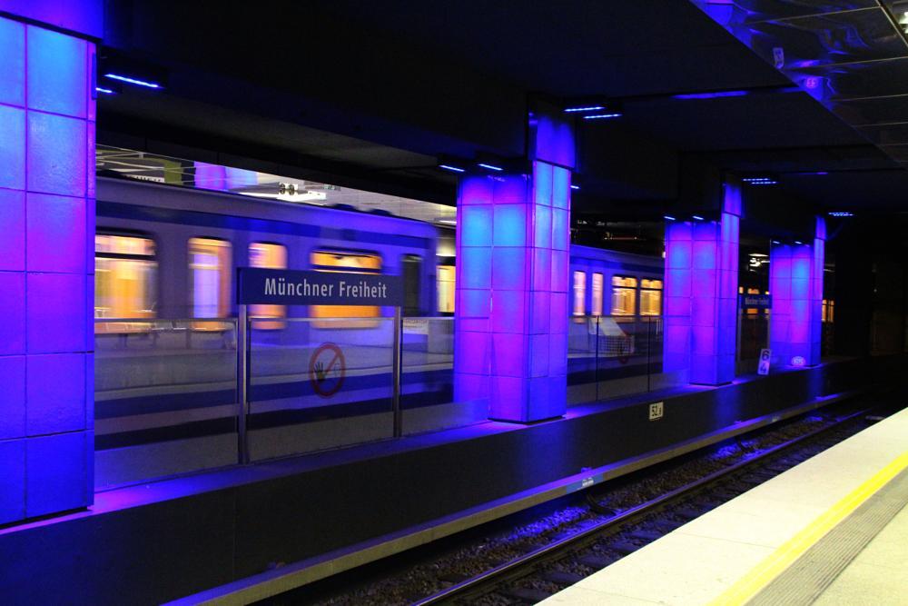 Photo in Architecture #metro #station #munich