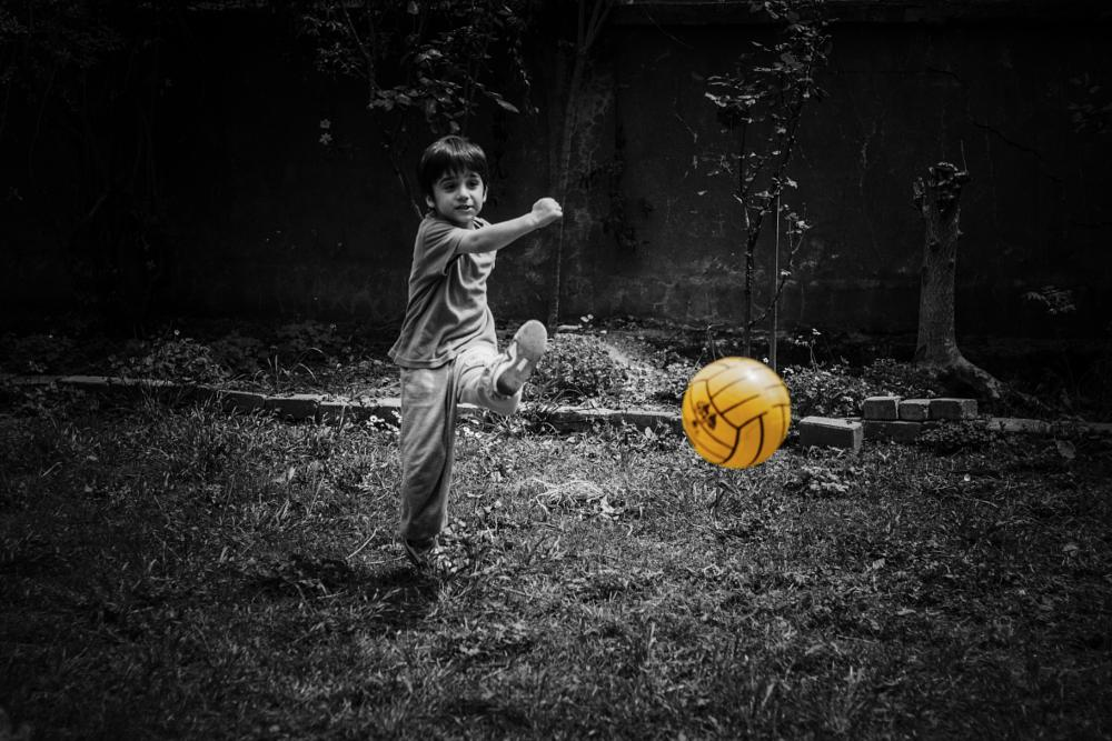 Photo in People #goal #child #football #canon #shot #650d #ball