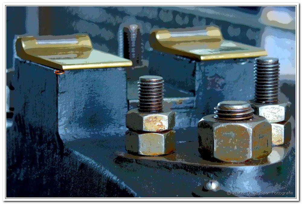 Photo in Industrial #industrial #detail #machine #old #part