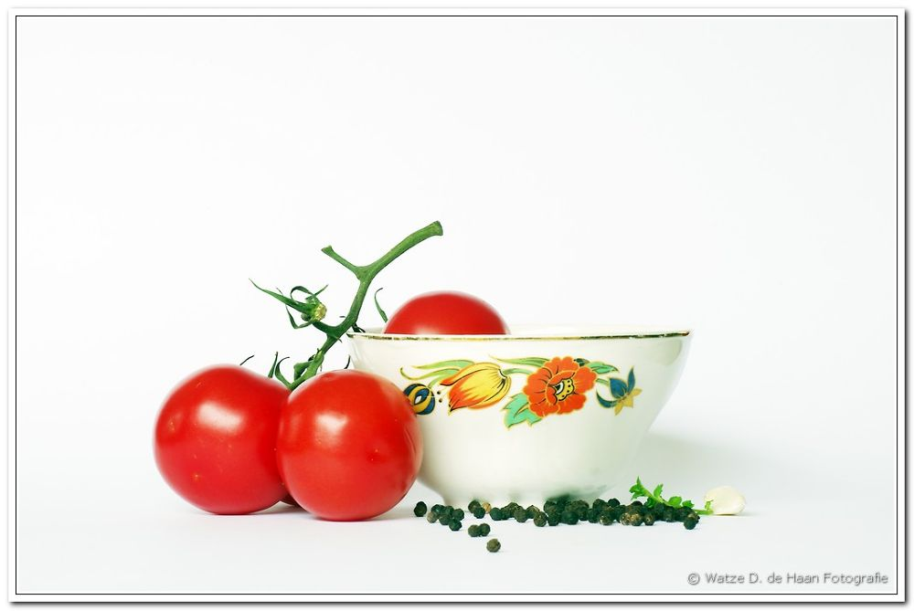 Photo in Food #still life #food #pepper #tomatos