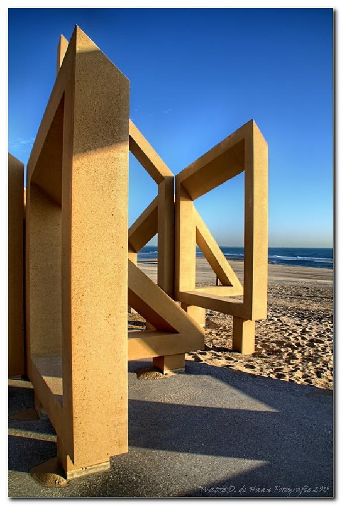 Photo in Random #art #beach #maasvlakte #netherlands #sand #sea
