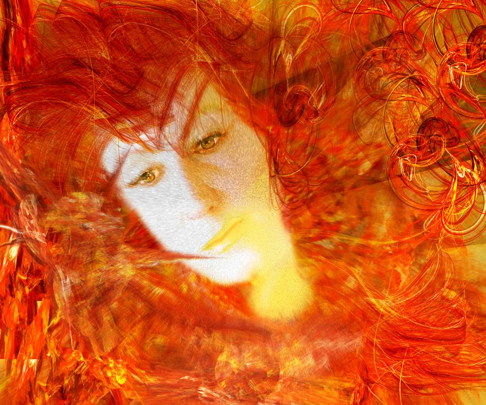 Photo in Fine Art #woman #composite #female #abstract