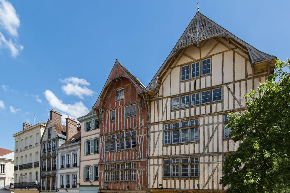 Photo in Architecture #architecture #troyes #aube #france #colombages