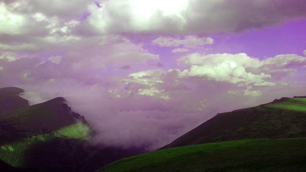 Photo in Random #cloud #trail ridge #rockies