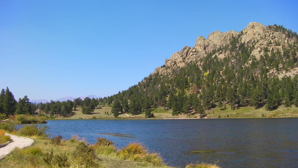 Photo in Nature #lake #rockies #rmnp