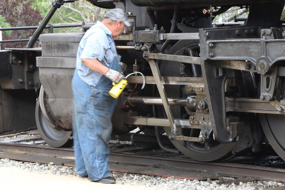 Photo in Vintage #steam train #engineer #railway