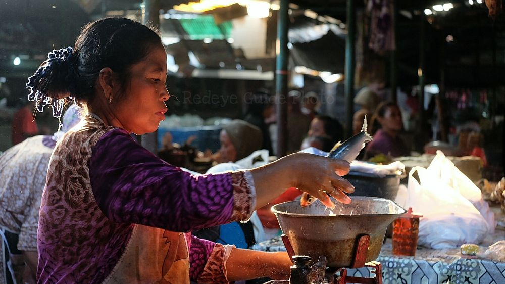 Photo in Street Photography #redeyeguide #fish #jawa #rembang #market #bandeng