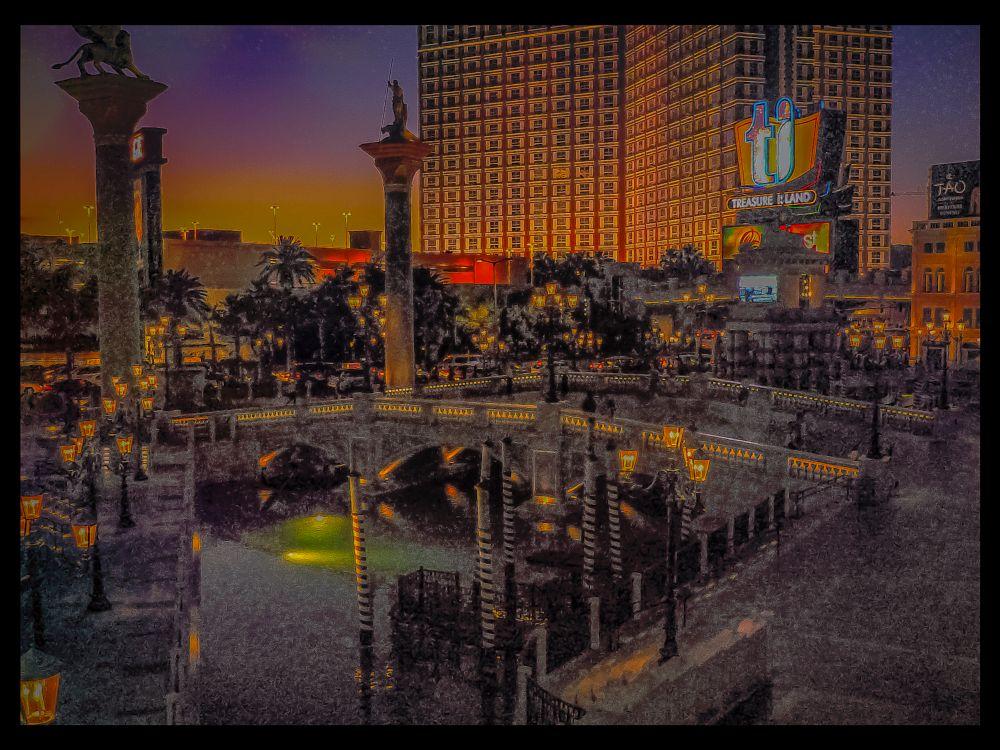 Photo in Cityscape #las vegas nv #dusk #the venetian