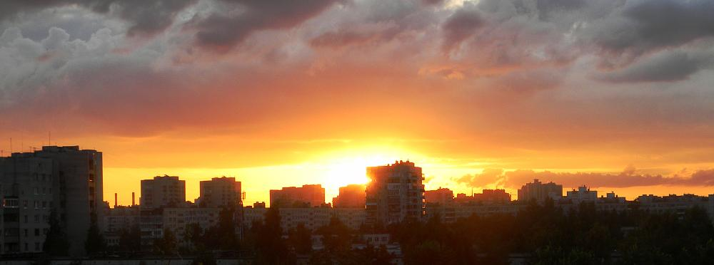 Photo in Urban #sunset #saint-petersburg #russia #city