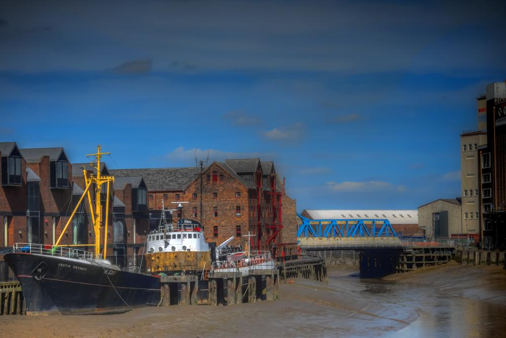 Photo in Still Life #arctic corsair #river hull #museum #2015 #city of culture 2017 #hdr #sidewinder trawler