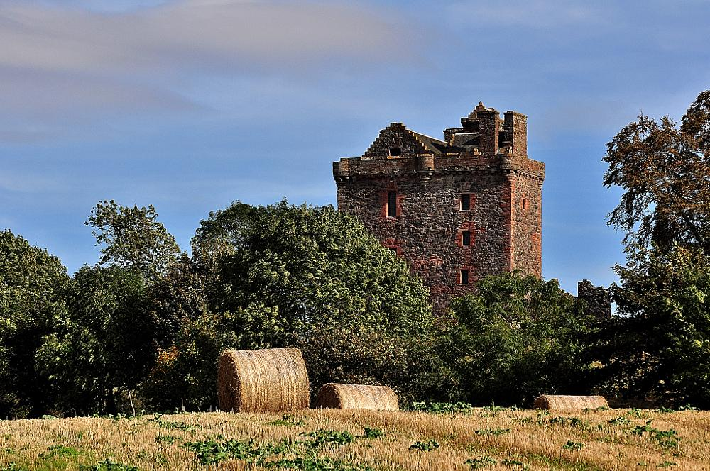 Photo in Landscape #castle #perthshire #balvaird