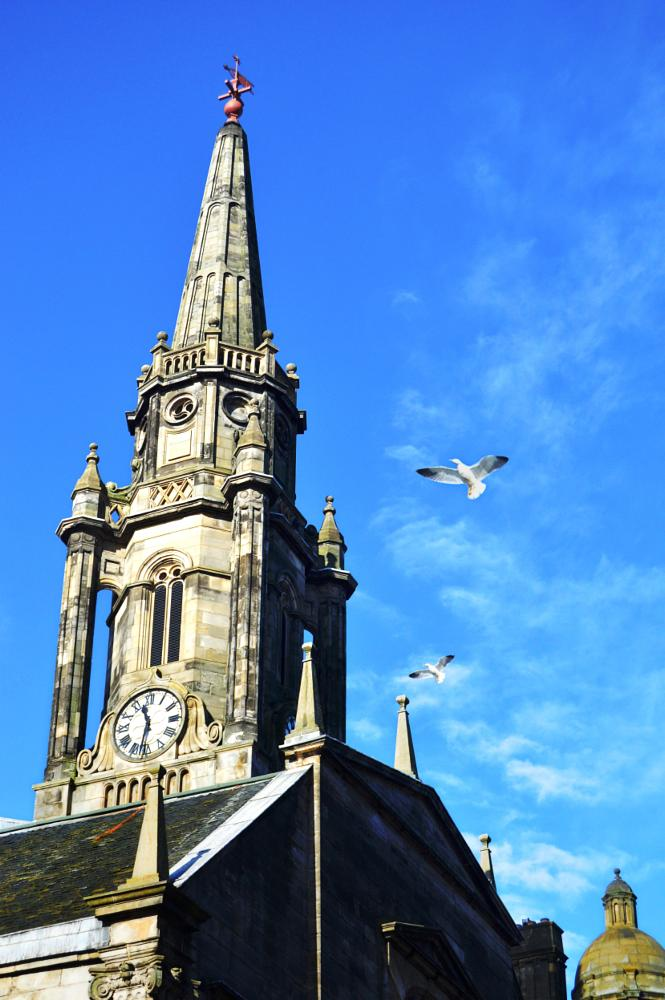 Photo in Architecture #edinburgh #church #religious