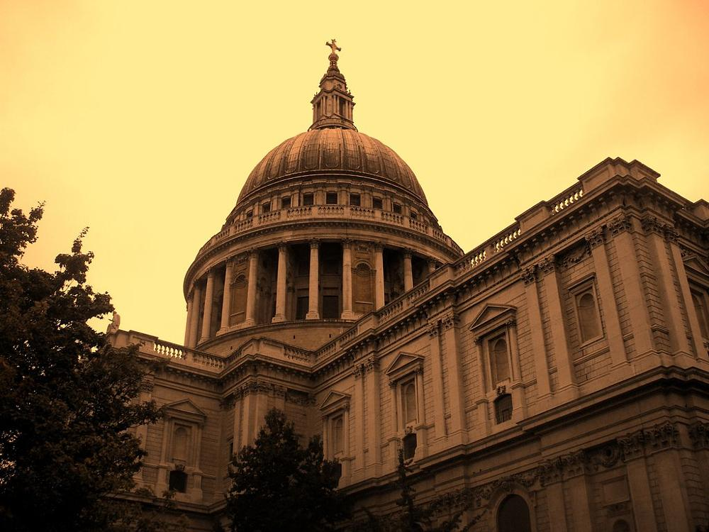 Photo in Architecture #st pauls #church #london #dome