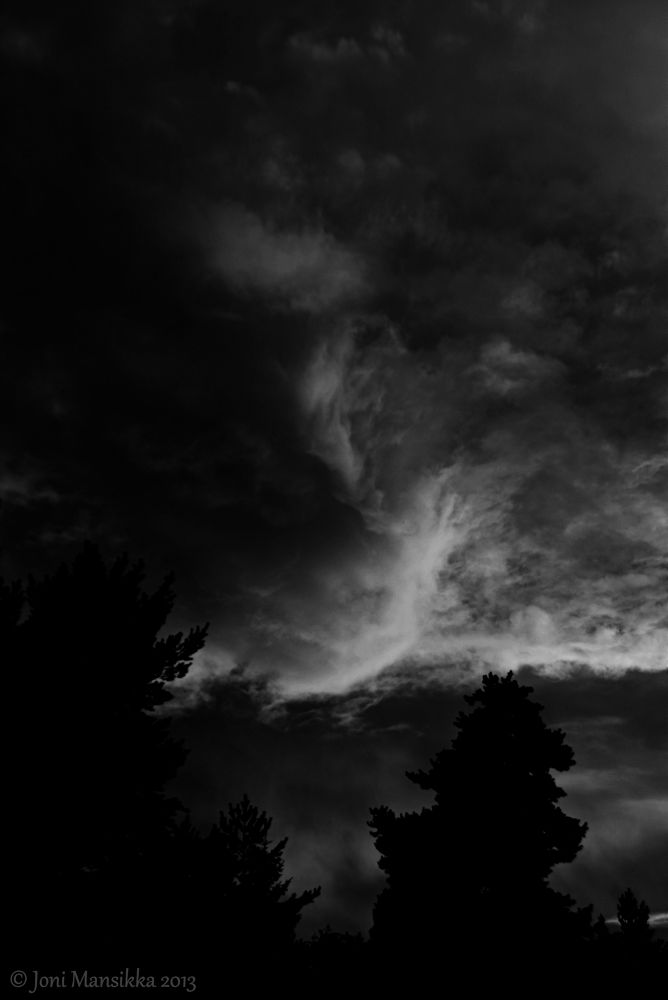 Photo in Random #sky #clouds #landscape #august