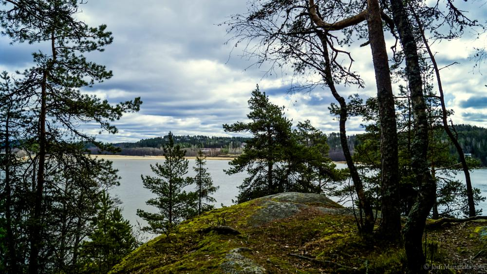 Photo in Landscape #clouds #sea #seabay #bay #shore #trees #nature #landscape #halikonlahti #finland