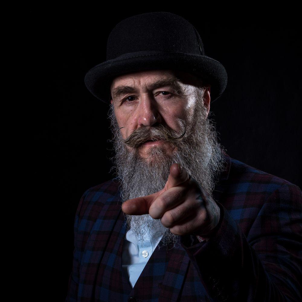 Photo in People #pip the gentleman #people #portrait #face #man #male #beard #hat