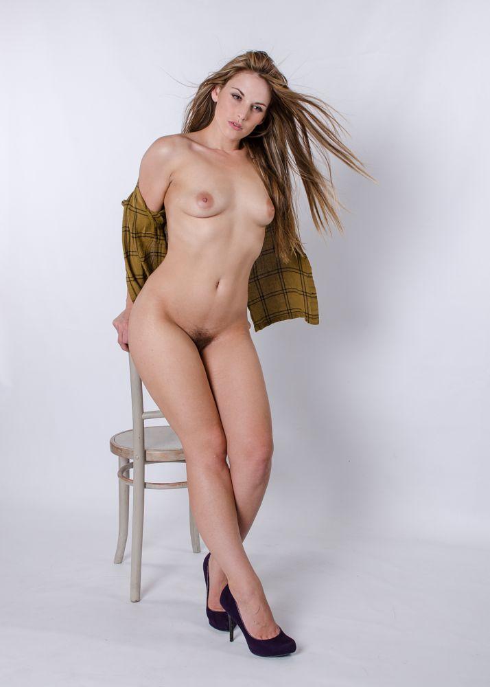 Photo in Nude #cariad #female #nude #blonde #studio