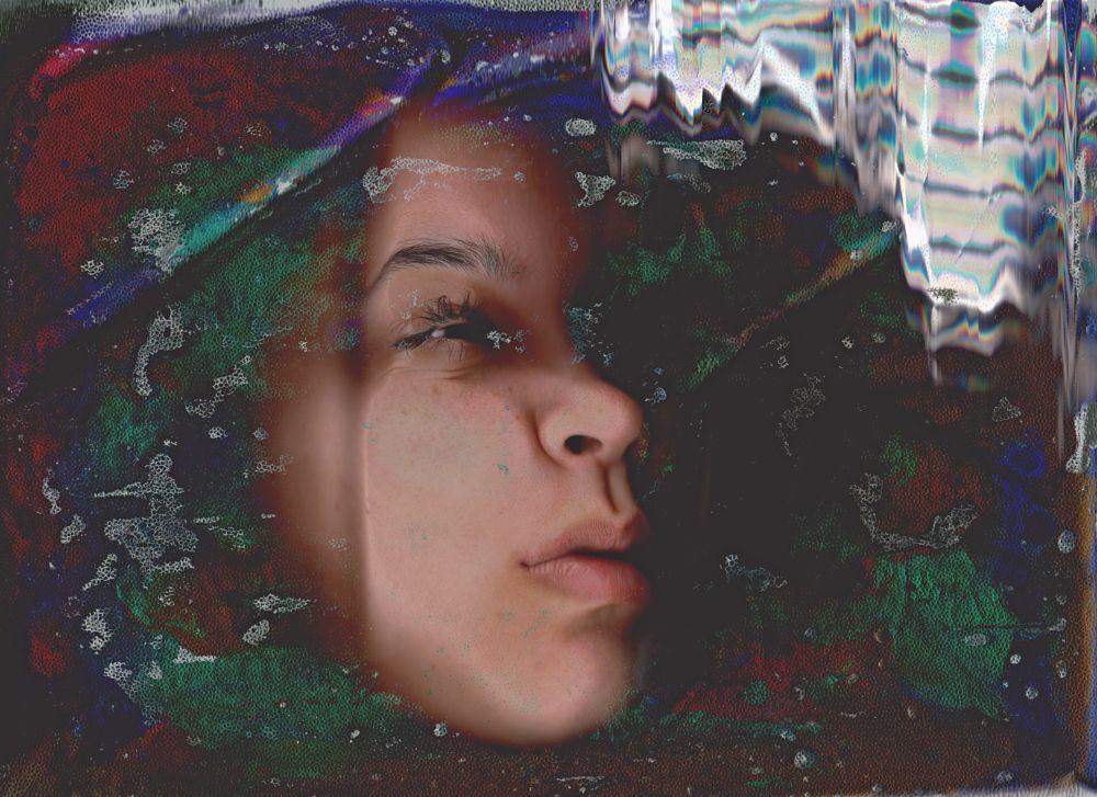 Photo in Fine Art #costa rica #san jose #selfportrait #autorretrato #fine art #colors #scan escaneo
